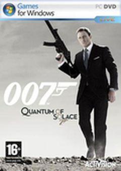 Jaquette 007: Quantum of Solace