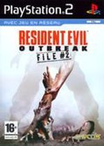 Jaquette Resident Evil : Outbreak - File #2