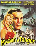 Affiche Mission à Tanger