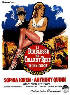 Affiche La Diablesse en collant rose