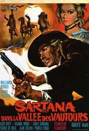 Affiche Sartana dans la vallée des vautours