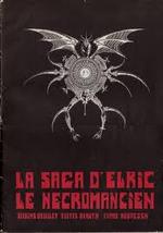 Couverture La Saga d'Elric le Nécromancien