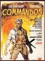 Affiche Commandos, l'enfer de la guerre