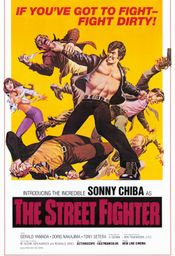 Affiche The Street Fighter