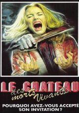 Affiche Le château des morts-vivants