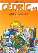 Couverture Gâteau surprise - Cédric, tome 10