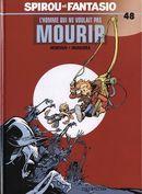 Couverture L'Homme qui ne voulait pas mourir - Spirou et Fantasio, tome 48