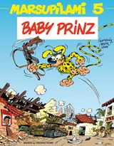Couverture Baby Prinz - Marsupilami, tome 5