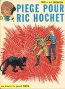 Couverture Piège pour Ric Hochet - RIc Hochet, tome 5