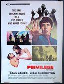 Affiche Privilège