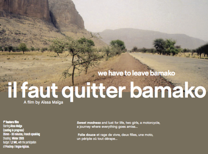 il faut quitter bamako film senscritique. Black Bedroom Furniture Sets. Home Design Ideas