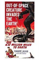 Affiche À des millions de kilomètres de la Terre