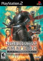 Jaquette Nobunaga's Ambition : Iron Triangle