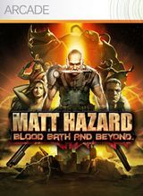 Jaquette Matt Hazard : Blood, Bath and Beyond