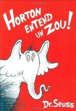 Couverture Horton entend un Zou !