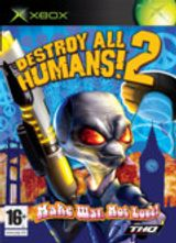 Jaquette Destroy All Humans ! 2