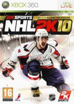 Jaquette NHL 2K10