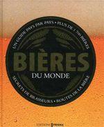Couverture Bières du monde