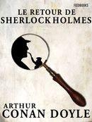 Couverture Le Retour de Sherlock Holmes