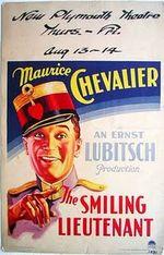 Affiche Le Lieutenant souriant