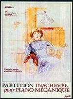 Affiche Partition inachevée pour piano mécanique