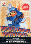 Jaquette Rocket Knight Adventures