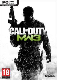 Jaquette Call of Duty : Modern Warfare 3