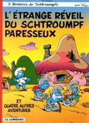 Couverture L'Étrange réveil du Schtroumpf Paresseux - Les Schtroumpfs, tome 15
