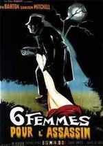 Affiche Six Femmes pour l'assassin