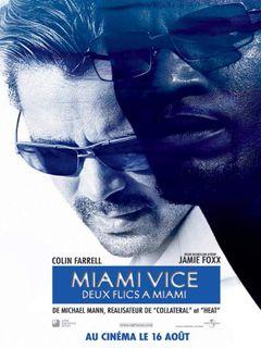 Affiche Miami Vice, deux flics à Miami