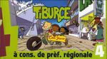 Couverture À cons. de préf. régionale - Tiburce, tome 4