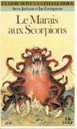 Couverture Le Marais aux scorpions - Défis fantastiques, tome 8