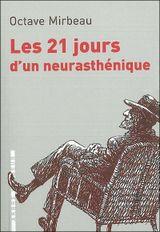 Couverture Les Vingt et un Jours d'un neurasthénique