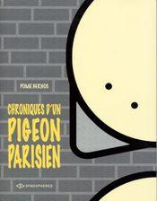 Couverture Chroniques d'un pigeon parisien