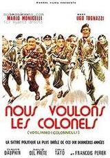 Affiche Nous voulons les colonels