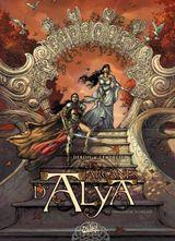Couverture La chasseresse écarlate - Les Arcanes d'Alya, tome 1