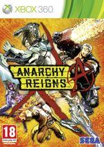 Jaquette Anarchy Reigns