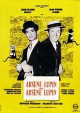 Affiche Arsène Lupin contre Arsène Lupin