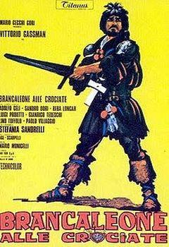 Affiche Brancaleone s'en va-t'aux croisades