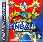 Jaquette Pokémon Pinball Rubis & Saphir