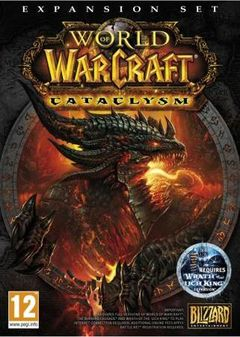 Jaquette World of Warcraft : Cataclysm