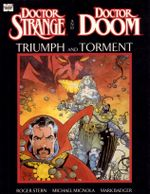 Couverture Doctor Strange & Doctor Doom: Triumph and Torment