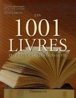 Couverture Les 1001 livres qu'il faut avoir lus dans sa vie