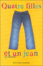 Couverture Quatre filles et un jean