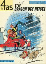 Couverture Les 4 as et le dragon des neiges