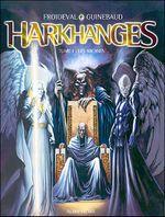 Couverture Les Arcanes - Harkhanges, tome 1