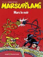 Couverture Mars le noir - Marsupilami, tome 3