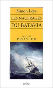 Couverture Les naufragés du Batavia