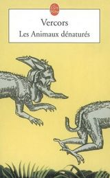 Couverture Les animaux dénaturés