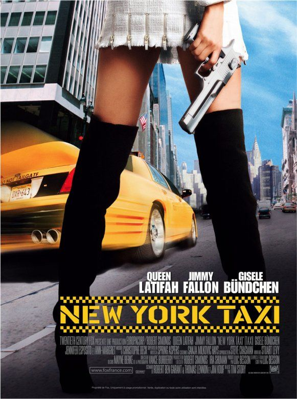 new york taxi film 2004 senscritique. Black Bedroom Furniture Sets. Home Design Ideas